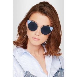 5f54690456 Fendi Accessories -  FIRM  FENDI Lei cat-eye frame sunglasses